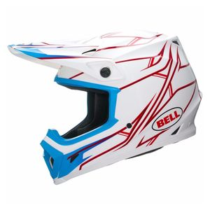 Casque cross MX-9 - PINNED WHITE 2017 Blanc