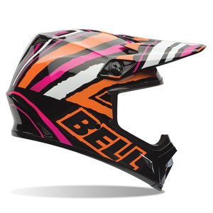 Casque cross MX-9 - TAGGER SCRUB PINK 2017 Noir/Rose