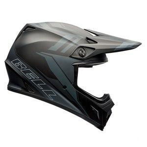 Casque cross MX-9 - BARRICADE MATTE BLACK 2017 Noir mat