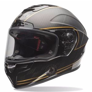 Casque RACE STAR ACE CAFE  Noir/Or