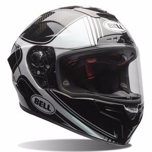 Casque RACE STAR - TRACER BLACK/WHITE  Noir/Blanc