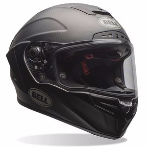 Casque RACE STAR - MATTE SOLID BLACK  Noir