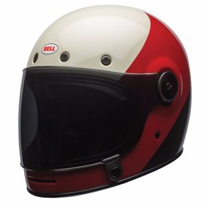 Casque BULLITT - TRIPLE THREAT  Noir/Rouge