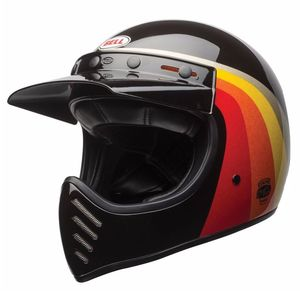Casque MOTO-3 - CHEMI CANDY BLACK/GOLD  Noir/Or