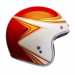 Casque CUSTOM 500 - COPPERHEAD  Blanc/Orange