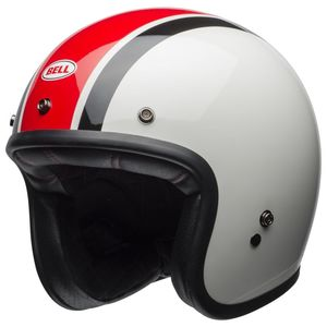 Casque CUSTOM 500 ACE CAFE STADIUM  Blanc/Rouge/Noir