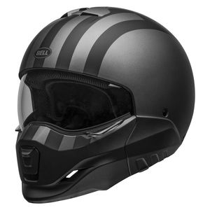 Casque BROOZER - FREE RIDE - GRAY BLACK MATT  Gray Black Matt