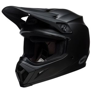 Casque cross MX-9 MIPS NOIR MAT 2018 Noir mat