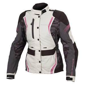 Veste BERYL CAMO LADIES  Noir/Gris/Rose