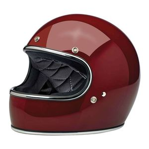 Casque GRINGO - GLOSS - CHROME  Garnet