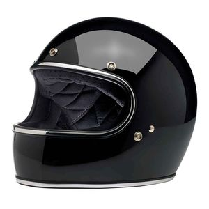Casque GRINGO - GLOSS - CHROME  BLACK