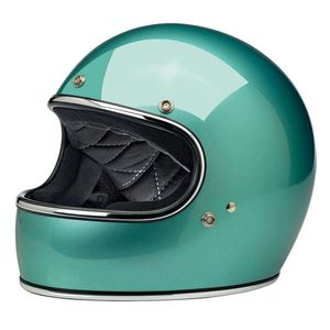 Casque GRINGO - GLOSS - CHROME  Sea Foam