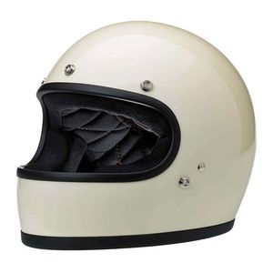 Casque GRINGO - GLOSS  Vintage White