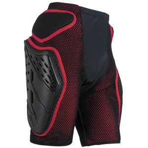 Short BIONIC FREERIDE  Noir/Rouge