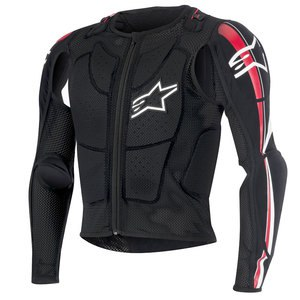 Gilet BIONIC PLUS 2018 Black/Red/White