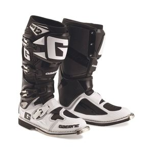 Bottes cross SG12 BLACK WHITE 2021 Noir/Blanc