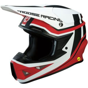 Casque cross F.I SESSION ROUGE/BLANC 2019 Rouge/Blanc