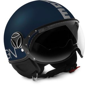 Casque FIGHTER EVO MAT  Bleu