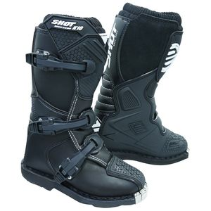 Bottes cross K10 2.0 - KID - BLACK  Black