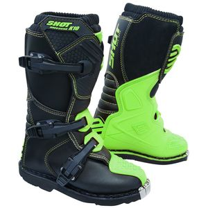 Bottes Cross Shot K10 2.0 - Kid - Neon Green 2019