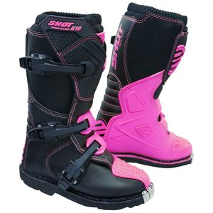 Bottes Cross Shot K10 2.0 - Kid - Neon Pink 2019