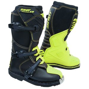 Bottes Cross Shot K10 2.0 - Kid - Neon Yellow 2019