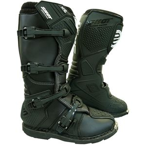 Bottes Cross Shot X10 2.0 - Black 2019