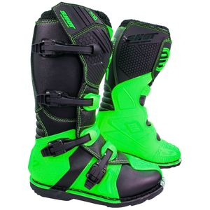 Bottes Cross Shot X10 2.0 - Neon Green 2019