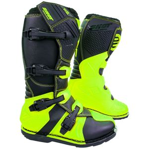 Bottes Cross Shot X10 2.0 - Neon Yellow 2019