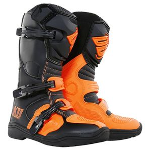 Bottes Cross Shot K11 Orange Fluo Enfant 2018