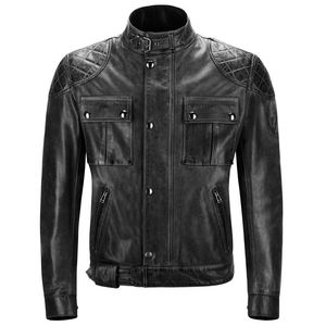 Blouson BROOKLANDS CUIR  Black