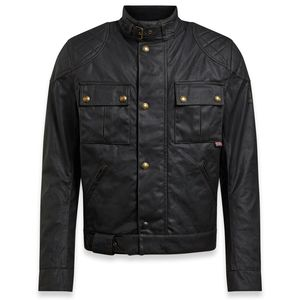 Blouson BROOKLANDS 2.0 WAX  Black