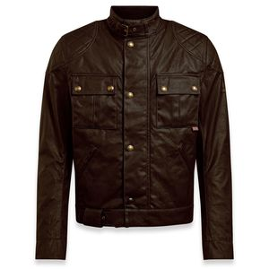 Blouson BROOKLANDS 2.0 WAX  Mahogany