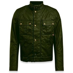 Blouson BROOKLANDS 2.0 WAX  Olive green
