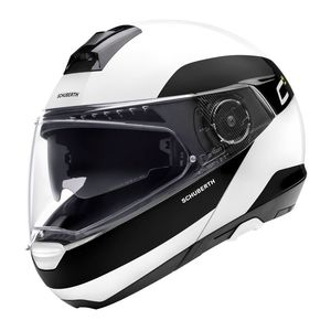 Casque C4 PRO FRAGMENT GLOSSY  Blanc