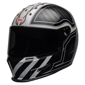 Casque ELIMINATOR OUTLAW  Noir/Blanc