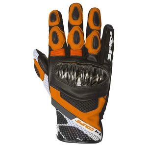 Gants X-4 COUPE  Noir/Orange