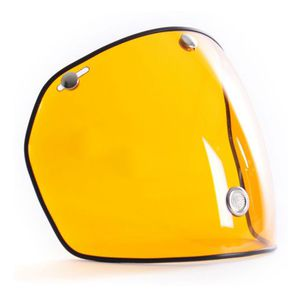 Ecran casque LONG VENTILE  Jaune