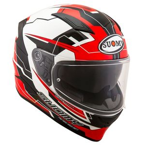 Casque SPEEDSTAR - CAMSHAFT  Black White Red