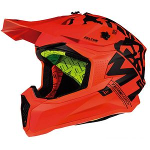 Casque cross FALCON - KARSON F3 - MATT FLUO ORANGE 2019 Matt Fluo Orange