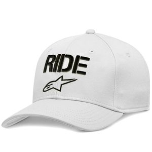 Casquette RIDE CURVE  White/Black