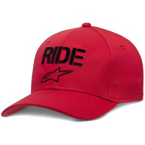 Casquette RIDE CURVE  Red/Black