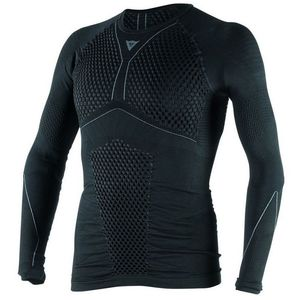 Maillot Technique D-CORE THERMO TEE LS  Black/anthracite