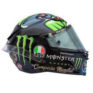 Casque Agv Pista Gp R Carbon Franco Morbidelli Limited Edition