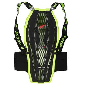 Dorsale ESATECH BACK PRO X7 - HIGH VISIBILITY  Black Yellow Fluo