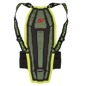 Dorsale ESATECH BACK PRO X8 - HIGH VISIBILITY  Black Yellow Fluo