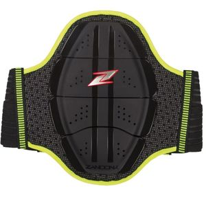 Protection lombaire SHIELD EVO X4 - HIGH VISIBILITY  Black Yellow Fluo