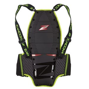 Dorsale SPINE EVC X9 - HIGH VISIBILITY  Black Yellow Fluo
