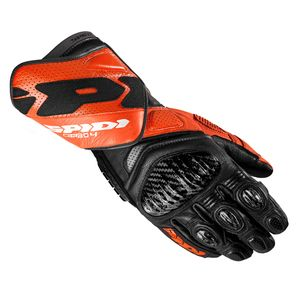 Gants CARBO 4  Noir/Orange