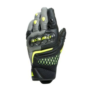 Gants CARBON 3 SHORT  Black/Charcoal Grey/Yellow Fluo
